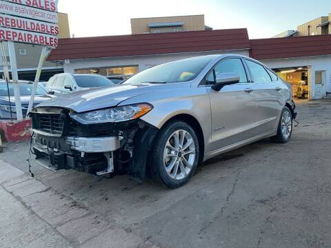 2019 Ford Fusion Hybrid for sale at STS Automotive in Denver CO