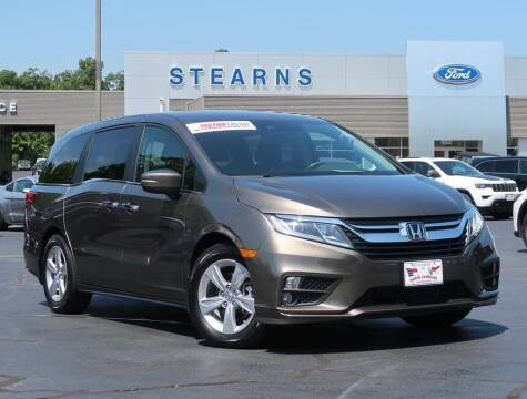 2019 Honda Odyssey for sale at Stearns Ford in Burlington NC