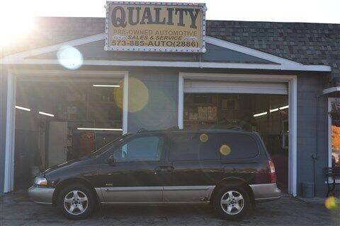 2000 Mercury Villager for sale at Quality Pre-Owned Automotive in Cuba MO
