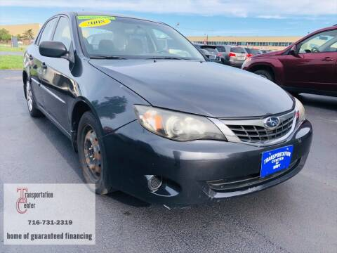 2008 Subaru Impreza for sale at Transportation Center Of Western New York in Niagara Falls NY