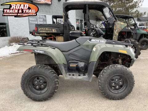 2016 Arctic Cat 500 for sale at Road Track and Trail in Big Bend WI