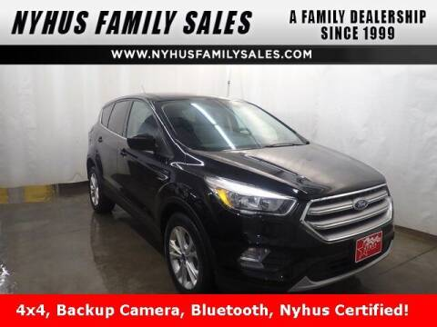 2017 Ford Escape for sale at Nyhus Family Sales in Perham MN