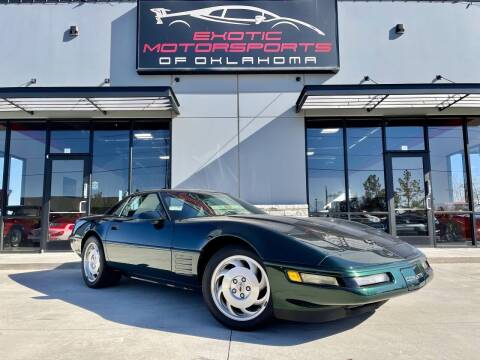 1994 Chevrolet Corvette for sale at Exotic Motorsports of Oklahoma in Edmond OK