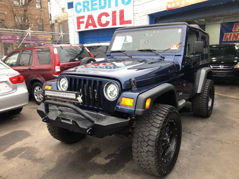 2002 Jeep Wrangler for sale at DEALS ON WHEELS in Newark NJ
