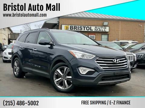 2014 Hyundai Santa Fe for sale at Bristol Auto Mall in Levittown PA