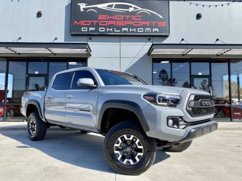 2019 Toyota Tacoma for sale at Exotic Motorsports of Oklahoma in Edmond OK