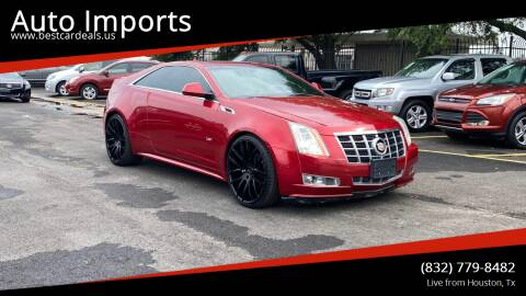2012 Cadillac CTS for sale at Auto Imports in Houston TX