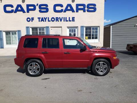 2009 Jeep Patriot for sale at Caps Cars Of Taylorville in Taylorville IL
