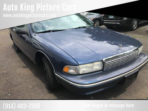 1995 Chevrolet Caprice for sale at Auto King Picture Cars in Westchester County NY