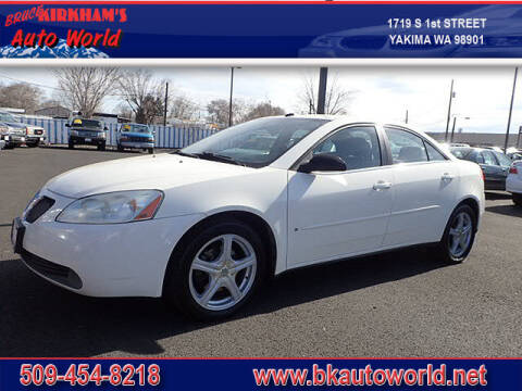 2008 Pontiac G6 for sale at Bruce Kirkham Auto World in Yakima WA