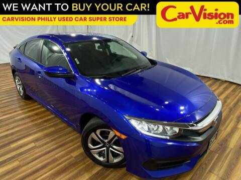 2018 Honda Civic for sale at Car Vision Mitsubishi Norristown - Car Vision Philly Used Car SuperStore in Philadelphia PA