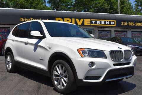 2013 BMW X3 for sale at DRIVE TREND in Cleveland OH
