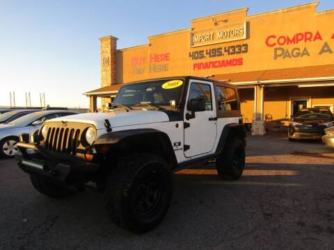 2008 Jeep Wrangler for sale at Import Motors in Bethany OK
