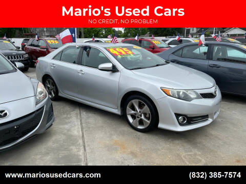 2014 Toyota Camry for sale at Mario's Used Cars - South Houston Location in South Houston TX