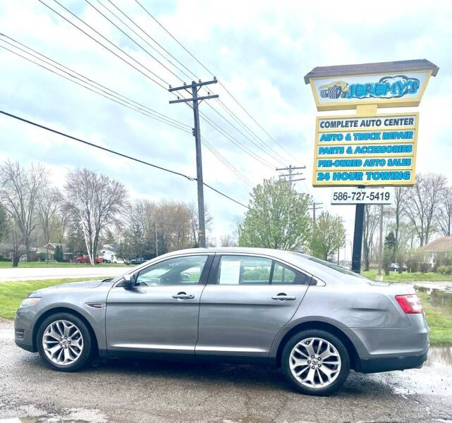 2014 Ford Taurus for sale at JEREMYS AUTOMOTIVE in Casco MI