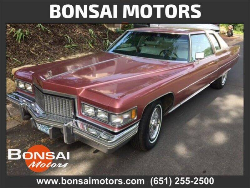 1975 Cadillac DeVille for sale in Lakeland, MN