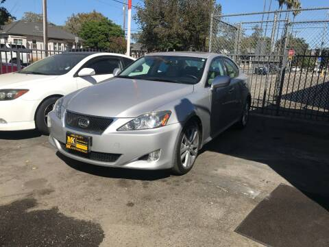 2007 Lexus IS 250 for sale at MK Auto Wholesale in San Jose CA