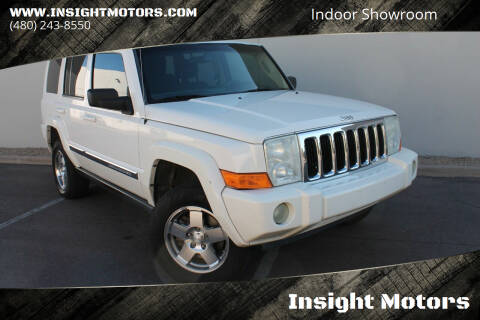 2010 Jeep Commander for sale at Insight Motors in Tempe AZ