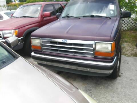 1993 Ford Explorer for sale at Dulux Auto Sales Inc & Car Rental in Hollywood FL