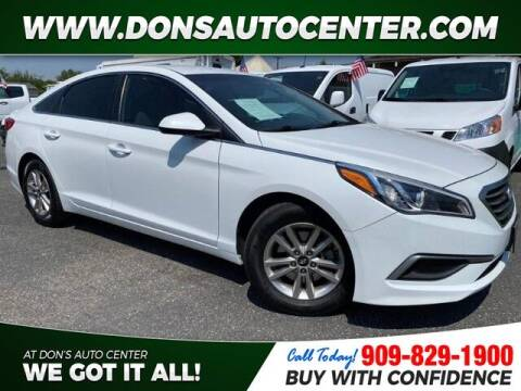 2016 Hyundai Sonata for sale at Dons Auto Center in Fontana CA