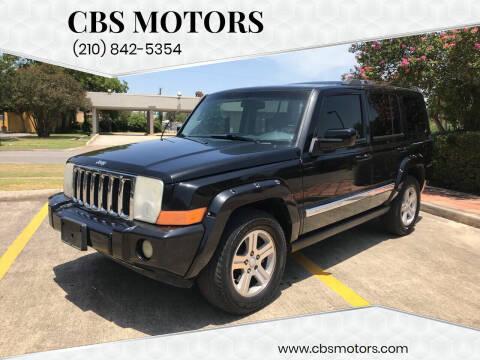 2009 Jeep Commander for sale at CBS MOTORS in San Antonio TX