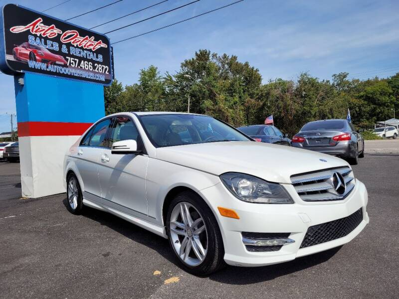 2013 Mercedes-Benz C-Class for sale at Auto Outlet Sales and Rentals in Norfolk VA