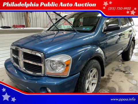 2006 Dodge Durango for sale at Philadelphia Public Auto Auction in Philadelphia PA