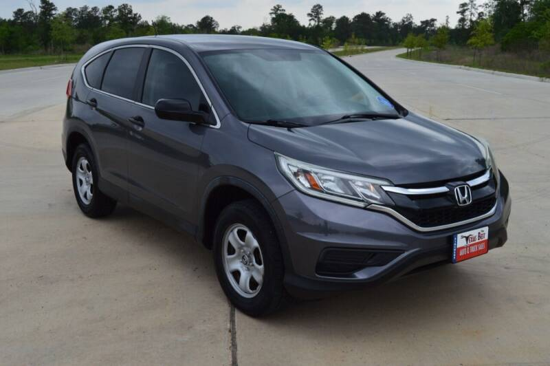 2015 Honda CR-V for sale at Fincher's Texas Best Auto & Truck Sales in Tomball TX