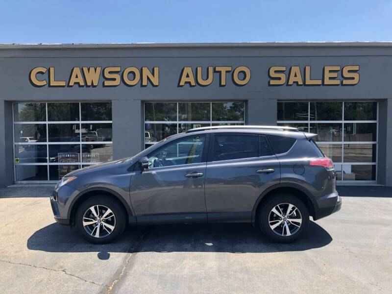 2018 Toyota RAV4 for sale at Clawson Auto Sales in Clawson MI