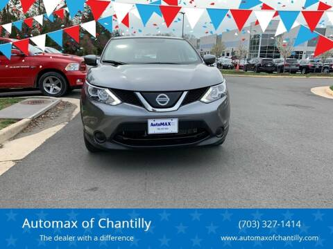 2018 Nissan Rogue Sport for sale at Automax of Chantilly in Chantilly VA