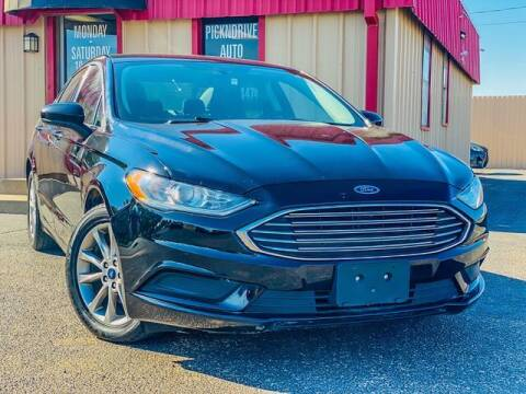 2017 Ford Fusion for sale at MAGNA CUM LAUDE AUTO COMPANY in Lubbock TX