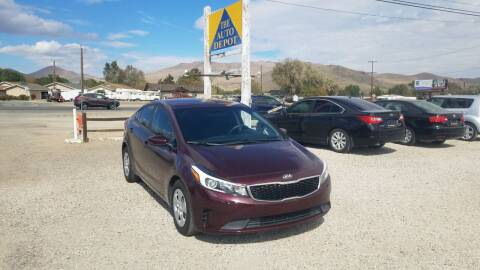2017 Kia Forte for sale at Auto Depot in Carson City NV