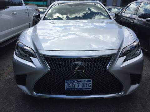 2018 Lexus LS 500 for sale at LUXURY OF QUEENS,INC in Long Island City NY