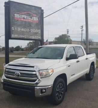 2016 Toyota Tundra for sale at SIRIUS MOTORS INC in Monroe OH