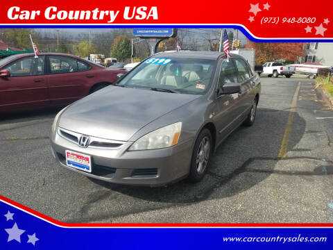 2007 Honda Accord for sale at Car Country USA in Augusta NJ