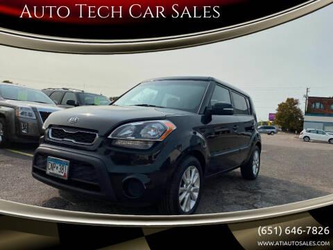 2012 Kia Soul for sale at Auto Tech Car Sales in Saint Paul MN