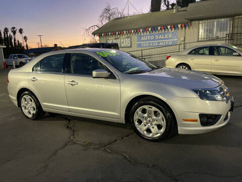 2010 Ford Fusion for sale at Blue Diamond Auto Sales in Ceres CA