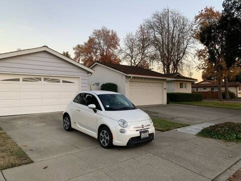 2015 FIAT 500e for sale at Blue Eagle Motors in Fremont CA