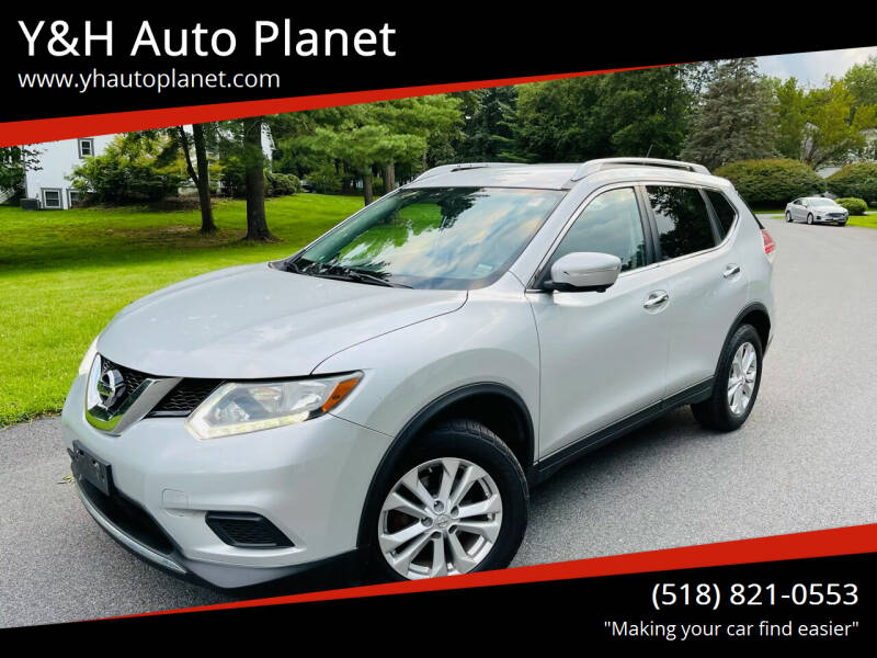 2015 Nissan Rogue for sale at Y&H Auto Planet in West Sand Lake NY