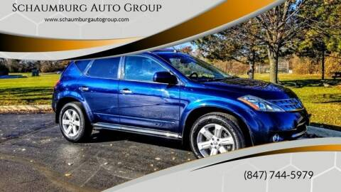 2007 Nissan Murano for sale at Schaumburg Auto Group in Schaumburg IL