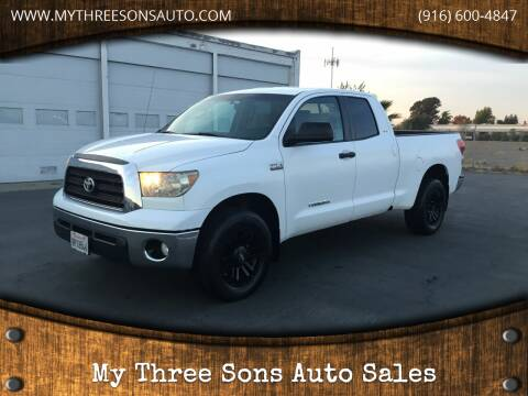 2008 Toyota Tundra for sale at My Three Sons Auto Sales in Sacramento CA