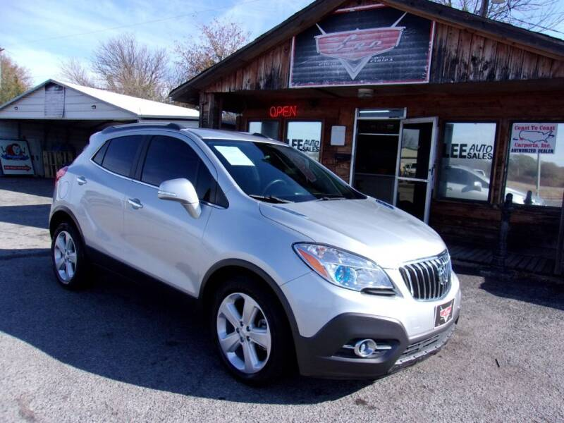 2015 Buick Encore for sale at LEE AUTO SALES in McAlester OK