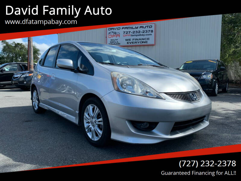 2011 Honda Fit for sale at David Family Auto in New Port Richey FL