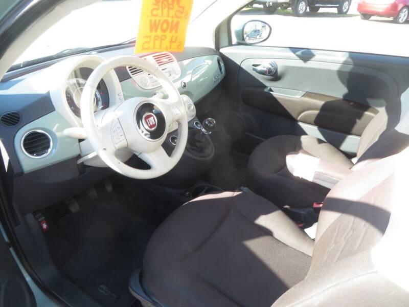 2012 FIAT 500 Pop 2dr Hatchback - Concord NH
