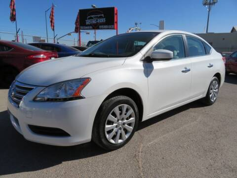 2014 Nissan Sentra for sale at Moving Rides in El Paso TX