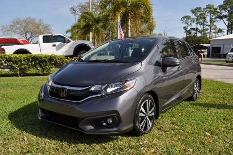 2018 Honda Fit for sale at STEPANEK'S AUTO SALES & SERVICE INC. in Vero Beach FL