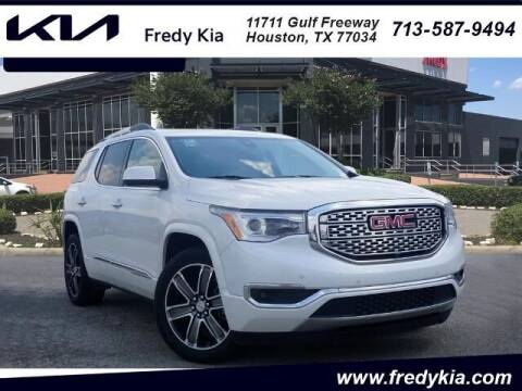 2017 GMC Acadia for sale at FREDY KIA USED CARS in Houston TX