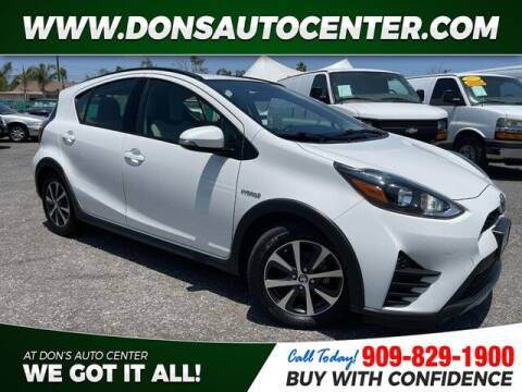 2018 Toyota Prius c for sale at Dons Auto Center in Fontana CA
