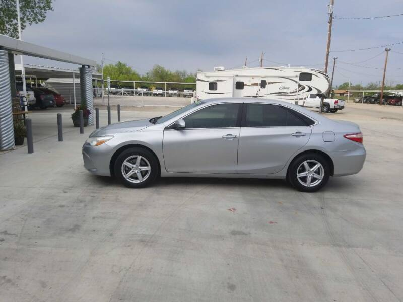 2015 Toyota Camry for sale at Bostick's Auto & Truck Sales LLC in Brownwood TX