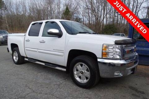 2012 Chevrolet Silverado 1500 for sale at Brandon Reeves Auto World in Monroe NC